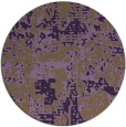 rug #1071398   round purple rug