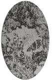rug #1072474 | oval red-orange rug