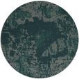 rug #1073126   round blue-green rug