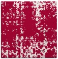 rug #1077530 | square red rug