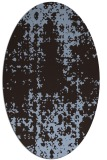 rug #1077892 | oval traditional rug