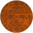 rug #1080631 | round traditional rug
