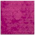 rug #1081310 | square pink rug
