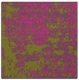 rug #1081434 | square light-green rug