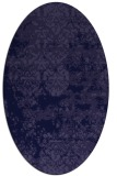 rug #1081546 | oval traditional rug