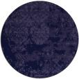 rug #1082282 | round blue-violet rug