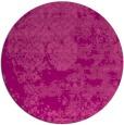 rug #1082414   round pink rug