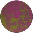 rug #1082538 | round light-green rug