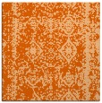 rug #1083202 | square red-orange rug