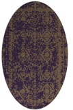 rug #1083542 | oval traditional rug