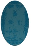 rug #1087053 | oval traditional rug