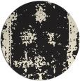 rug #1087738 | round black rug