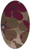 rug #109047 | oval natural rug