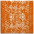 rug #1097930 | square red-orange rug