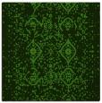 rug #1097934 | square light-green rug