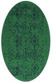 rug #1098089 | oval damask rug