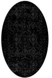 rug #1103828 | oval damask rug