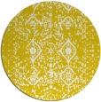 rug #1104566 | round white rug