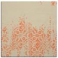 rug #1105222 | square orange rug