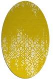 rug #1105670 | oval damask rug
