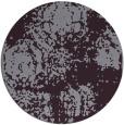 rug #1108202   round purple rug