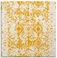 rug #1109042 | square light-orange rug