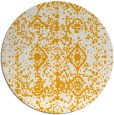 rug #1110146   round light-orange rug