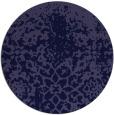 rug #1119082 | round blue-violet rug