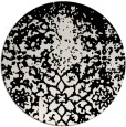 rug #1119138 | round black rug