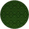 rug #1122763 | round light-green rug