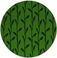 rug #1123103 | round light-green rug