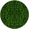 rug #1123683 | round light-green rug