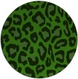 rug #1126863 | round light-green rug