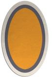rug #112805 | oval light-orange rug