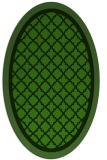 rug #1128995 | oval light-green rug