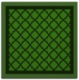 rug #1129011 | square light-green rug