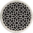 rug #1132940   round borders rug