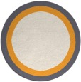 rug #113512   round borders rug