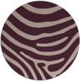 rug #1136723   round pink rug