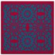 rug #1137415 | square blue-green rug