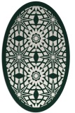 rug #1137798 | oval graphic rug