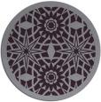 rug #1138651   round purple rug
