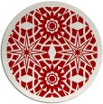 rug #1138655   round red rug