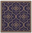rug #1139239 | square blue-violet rug