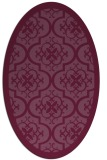 rug #1139746 | oval traditional rug