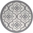 rug #1140566 | round traditional rug