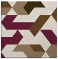 rug #1141131 | square beige rug