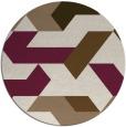 rug #1142235   round beige rug