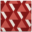 rug #1143079 | square red rug