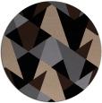 rug #1147611   round black rug